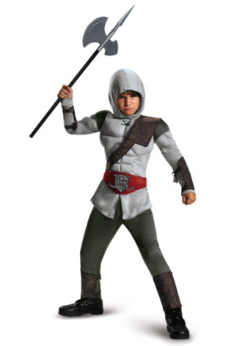 Click Here to buy Boys Assassin Muscle Costume from HalloweenCostumes, CDN Funds & Shipping