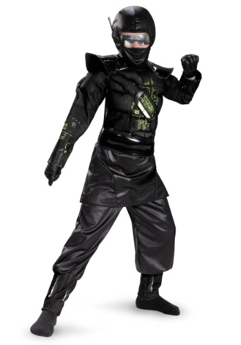 Click Here to buy Boys Deluxe Ninja C.O.R.E. Costume from HalloweenCostumes, CDN Funds