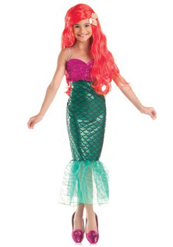 Click Here to buy Sweet Mermaid Kids Costume from HalloweenCostumes, CDN Funds & Shipping
