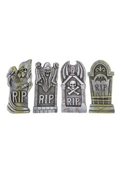Boneyard Set of 4 Tombstones