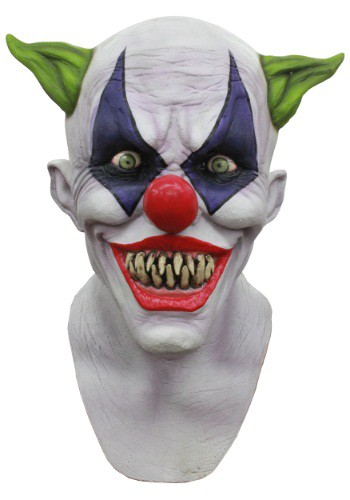 Click Here to buy Adult Creepy Giggles Clown Mask from HalloweenCostumes, CDN Funds & Shipping