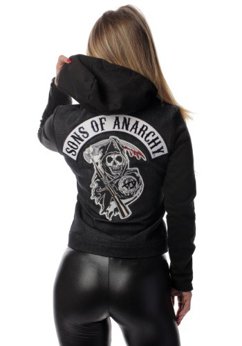 Womens Sons Of Anarchy Denim Highway Jacket