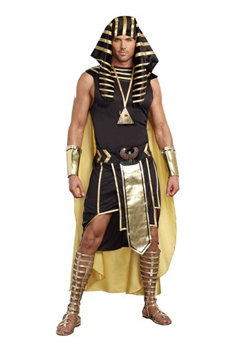 Click Here to buy King of Egypt Costume | Historical Costume from HalloweenCostumes, CDN Funds & Shipping
