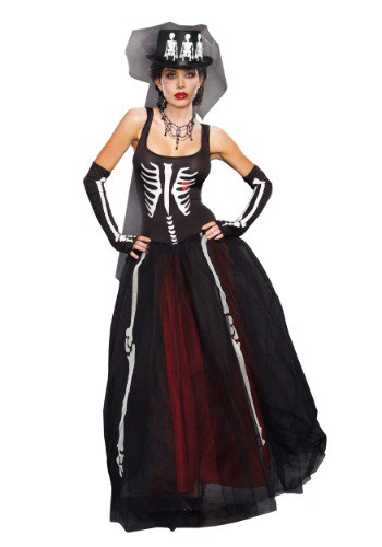 Womens Ms. Bones Costume