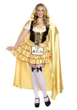 Women's Plus Size Goldilocks Costume