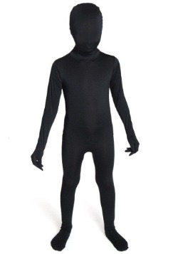 Child Black Morphsuit