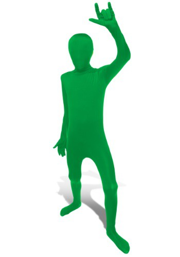 Child Green Morphsuit Costume