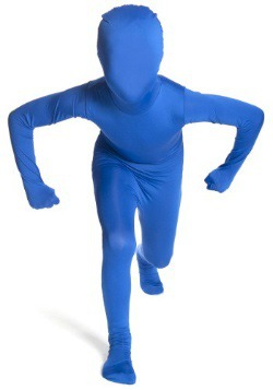 Child Blue Morphsuit