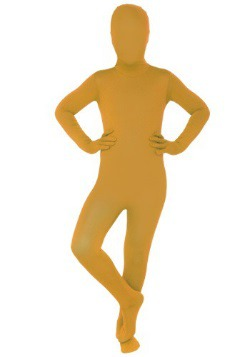 Child Orange Morphsuit