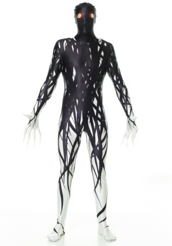Click Here to buy Adult Zalgo Morphsuit Costume from HalloweenCostumes, CDN Funds & Shipping