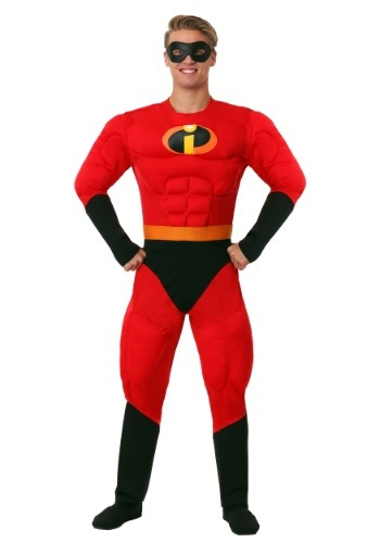 Disney The Incredibles Mr. Incredible Costume for Men