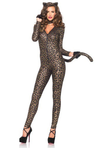 Sexy Leopard Catsuit