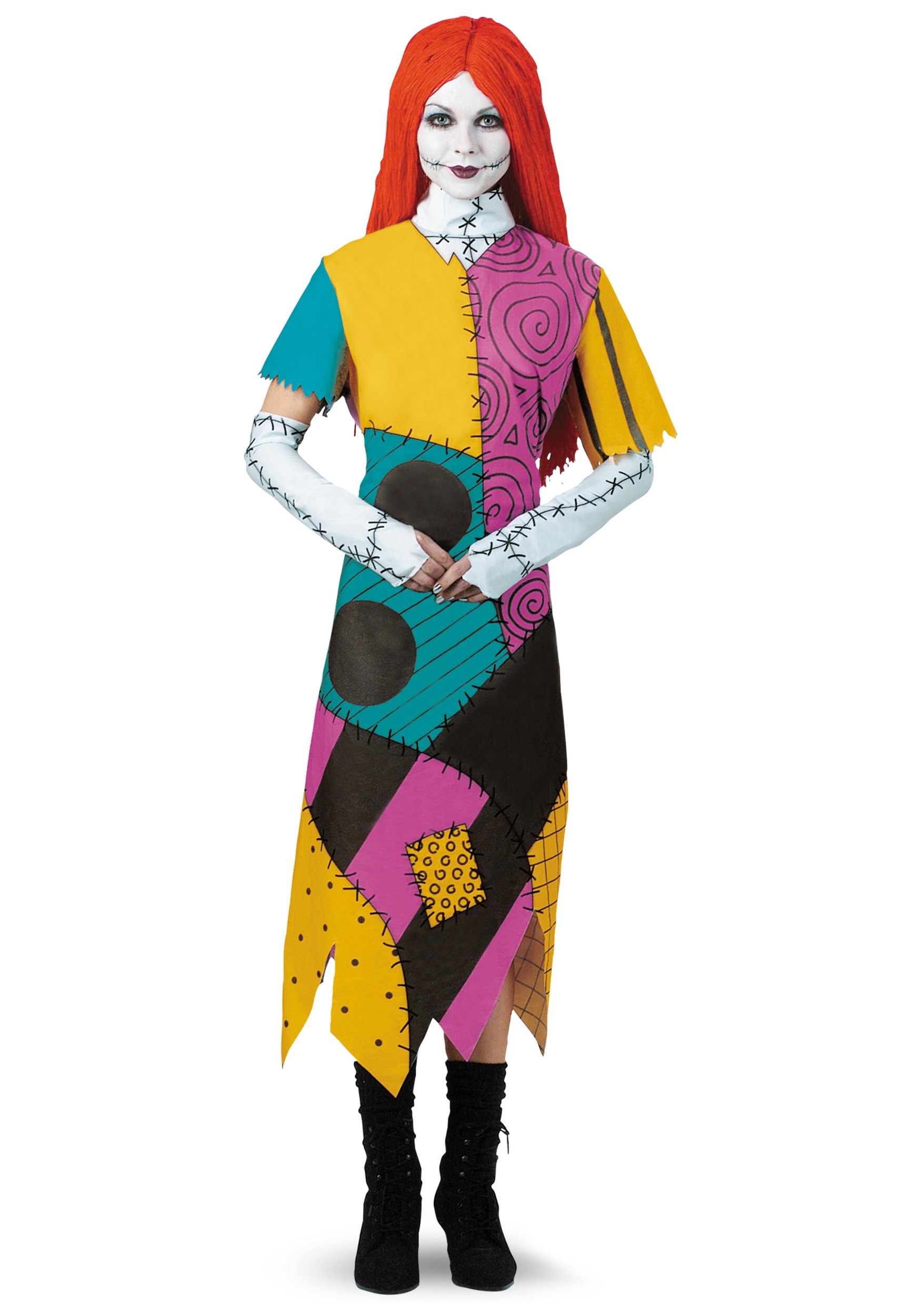 Christmas Halloween Costume Ideas.Plus Size Classic Sally Costume