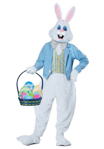 Click Here to buy Adult Deluxe Easter Bunny Costume from HalloweenCostumes, CDN Funds & Shipping
