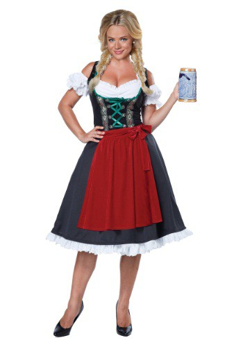 Click Here to buy Womens Oktoberfest Fraulein Costume from HalloweenCostumes, CDN Funds & Shipping