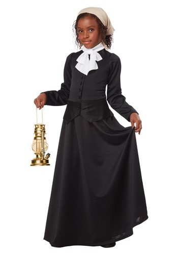 Girls Harriet Tubman Costume