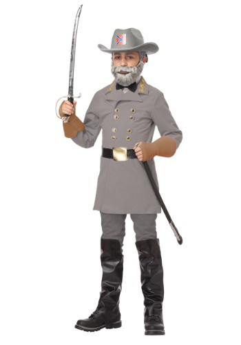 Click Here to buy Kids General Robert E. Lee Costume from HalloweenCostumes, CDN Funds & Shipping