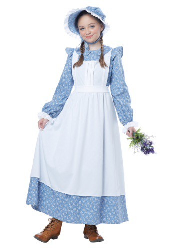 Child Pioneer Girl Costume | Historical Costume