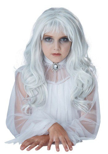 Click Here to buy Girls Ghost Wig from HalloweenCostumes, CDN Funds & Shipping