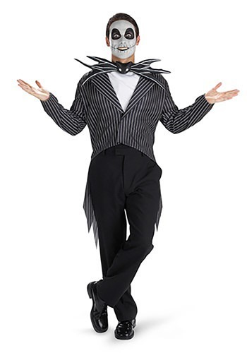 Click Here to buy Teen Jack Skellington Costume from HalloweenCostumes, CDN Funds & Shipping