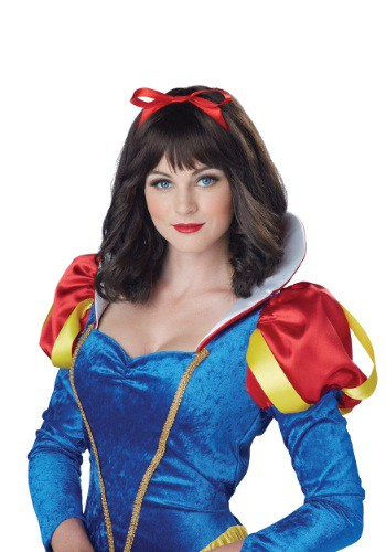 Click Here to buy Womens Snow White Wig from HalloweenCostumes, CDN Funds & Shipping