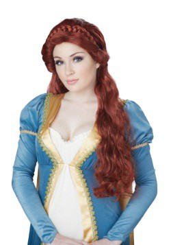 Women's Auburn Medieval Beauty Wig