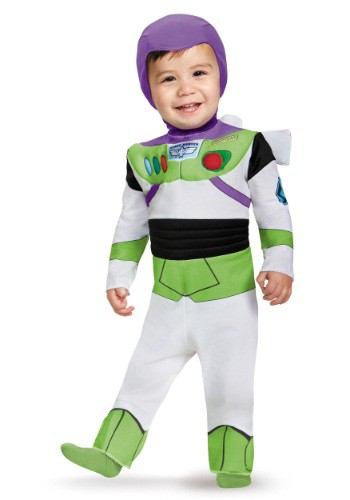 Click Here to buy Deluxe Buzz Lightyear Baby Costume from HalloweenCostumes, CDN Funds & Shipping