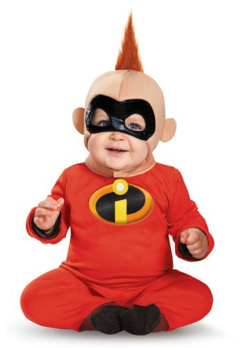 Click Here to buy Baby Jack Jack Deluxe Baby Costume - Incredibles Baby costume from HalloweenCostumes, CDN Funds & Shipping