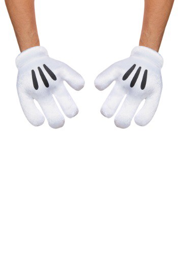 Click Here to buy Mickey Mouse Adult Gloves from HalloweenCostumes, CDN Funds & Shipping