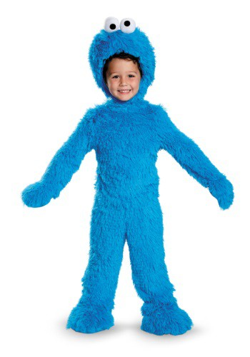 Click Here to buy Baby/Toddler Cookie Monster Plush Costume from HalloweenCostumes, CDN Funds & Shipping