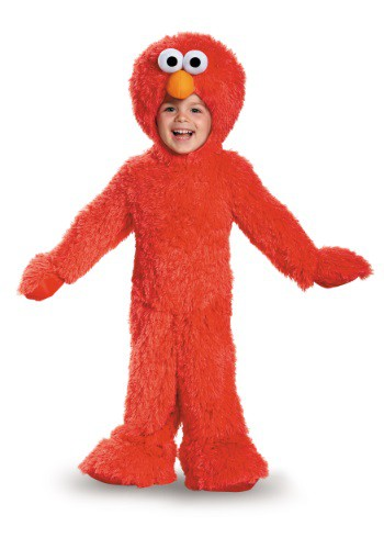 Infant/Toddler Elmo Plush Costume | Warm Halloween Costume
