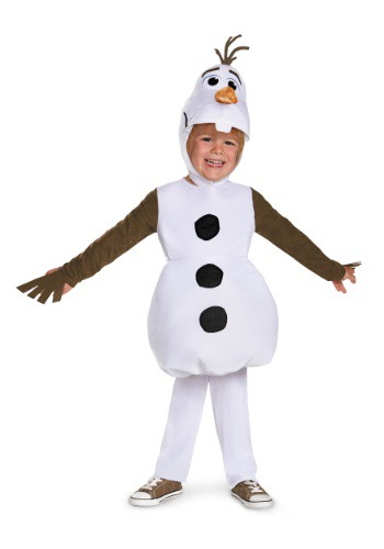 Click Here to buy Baby & Toddler Frozen Classic Olaf Costume from HalloweenCostumes, CDN Funds & Shipping