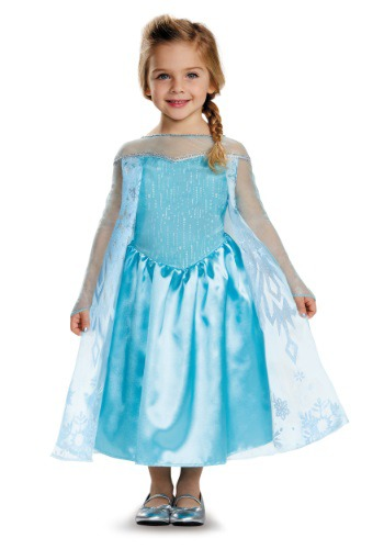 Click Here to buy Frozen Elsa Classic Toddler Costume from HalloweenCostumes, CDN Funds & Shipping