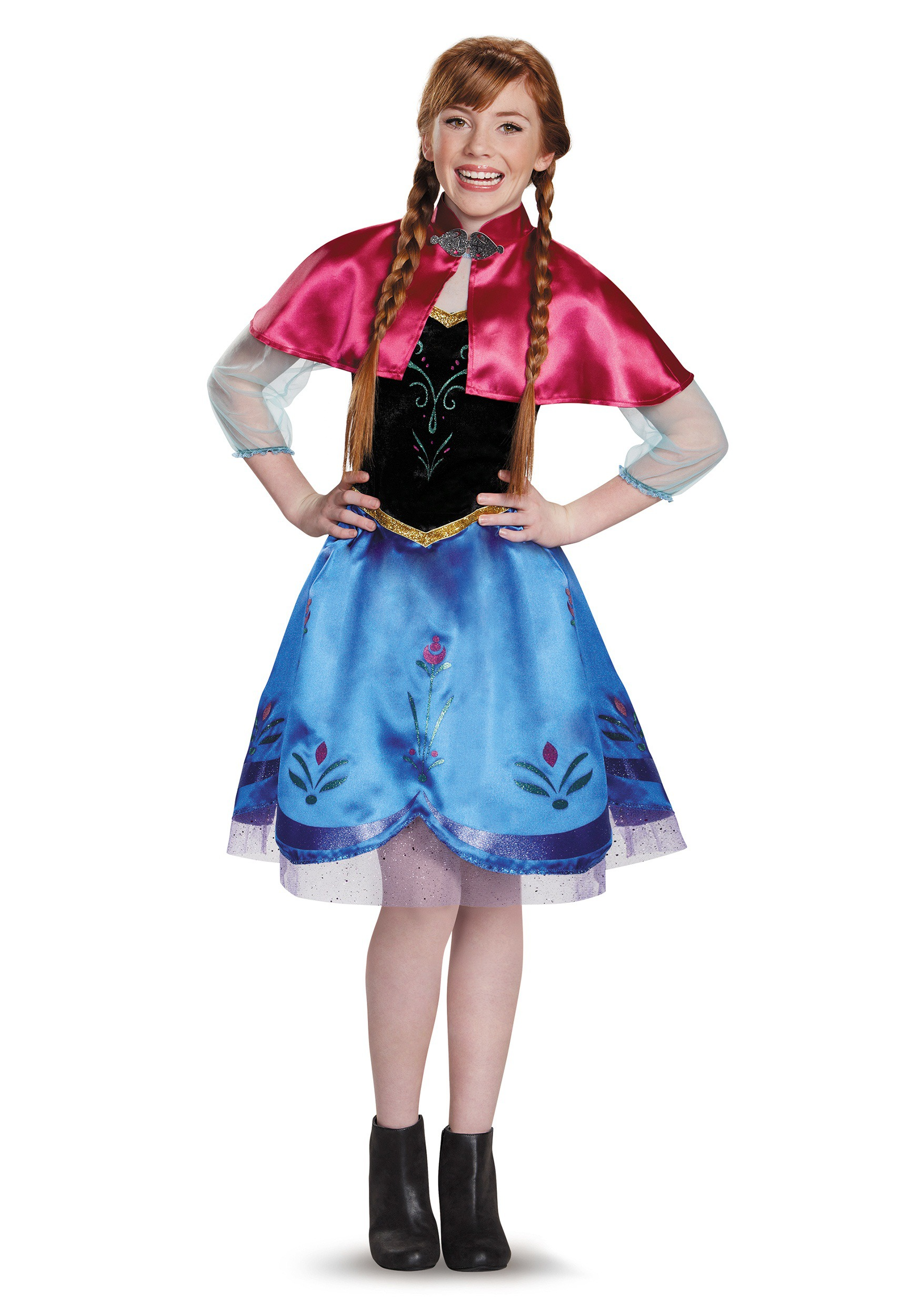 sc 1 st  Halloween Costumes CA & Tween Frozen Traveling Anna Costume
