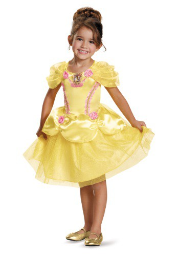Click Here to buy Belle Classic Toddler Costume from HalloweenCostumes, CDN Funds & Shipping