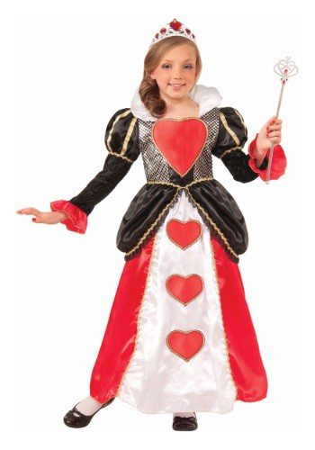 Click Here to buy Girls Sweetheart Queen Costume from HalloweenCostumes, CDN Funds & Shipping