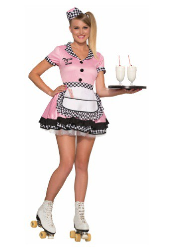 Click Here to buy Womens Trixie Sue Carhop Costume from HalloweenCostumes, CDN Funds & Shipping
