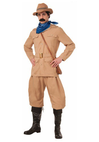 Click Here to buy Mens Theodore Roosevelt Costume from HalloweenCostumes, CDN Funds & Shipping