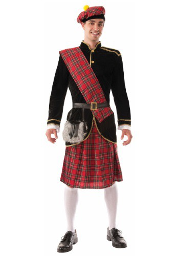 Click Here to buy Adult Scotsman Costume from HalloweenCostumes, CDN Funds & Shipping