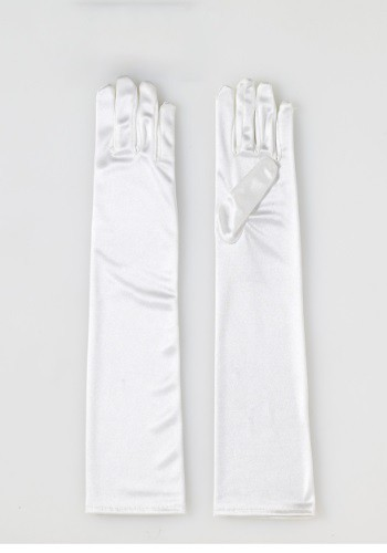 Click Here to buy Adult Long Ivory Satin Gloves from HalloweenCostumes, CDN Funds & Shipping
