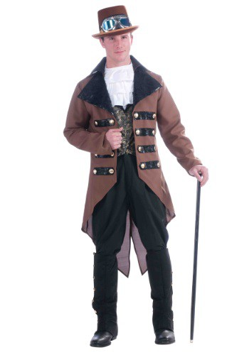 Click Here to buy Mens Steampunk Jack Costume from HalloweenCostumes, CDN Funds & Shipping