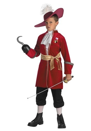 Child Captain Hook Costume - Kids Peter Pan Halloween Costumes