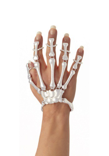 Click Here to buy Skeleton Hand Bracelet from HalloweenCostumes, CDN Funds & Shipping