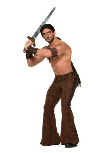 Click Here to buy Mens Medieval Warrior Pants from HalloweenCostumes, CDN Funds & Shipping