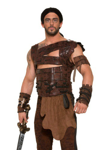Click Here to buy Mens Medieval Warrior Armor Costume from HalloweenCostumes, CDN Funds & Shipping