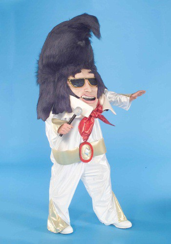 Adult Rock And Roll King Parade Mascot
