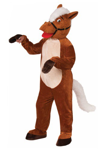 Click Here to buy Adult Henry The Horse Mascot Costume from HalloweenCostumes, CDN Funds & Shipping