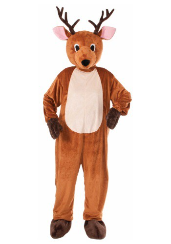 Click Here to buy Adult Reindeer Mascot Costume from HalloweenCostumes, CDN Funds & Shipping