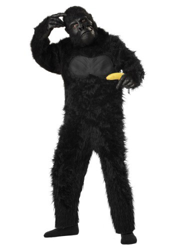 Click Here to buy Deluxe Gorilla Kids Costume from HalloweenCostumes, CDN Funds & Shipping