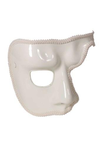Adult White Phantom Mask